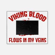 vikingBloodVeins1D Picture Frame