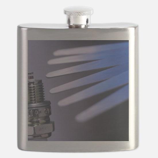 Set of feeler gauges Flask