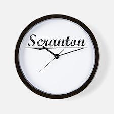 Scranton, Vintage Wall Clock