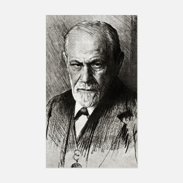 Sigmund Freud, Austrian psycho Decal