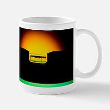 Silhouette of a spirit level Mug