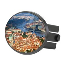 an elevated view of the city of P Hitch Cover