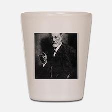 Sigmund Freud, Austrian psychologist Shot Glass