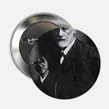 """Sigmund Freud, Austrian psychologist 2.25"""" Button"""
