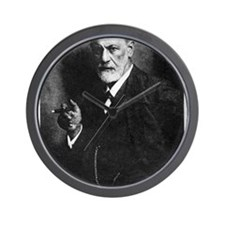 Sigmund Freud, Austrian psychologist Wall Clock