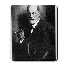 Sigmund Freud, Austrian psychologist Mousepad