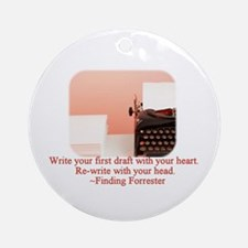 Finding Forrester Ornament (Round)