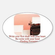 Finding Forrester Oval Decal