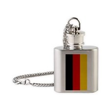 German Flag iPhone 5 Case Flask Necklace
