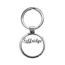 Selfridge, Vintage Round Keychain