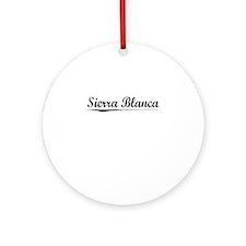 Sierra Blanca, Vintage Round Ornament