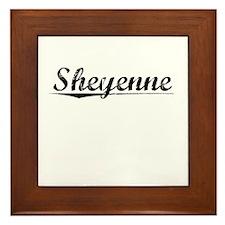 Sheyenne, Vintage Framed Tile