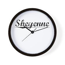 Sheyenne, Vintage Wall Clock