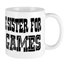 Trade Sister for Video Games Mug