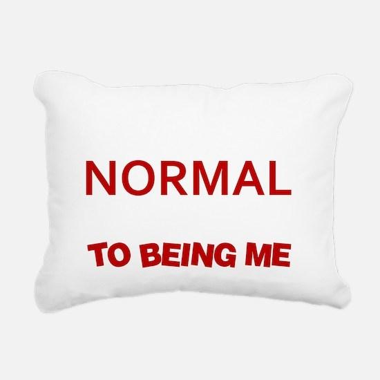 Sometimes i pretend to b Rectangular Canvas Pillow