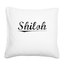 Shiloh, Vintage Square Canvas Pillow