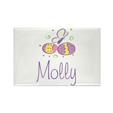 Easter Eggs - Molly Rectangle Magnet