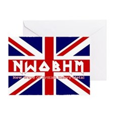 NWOBHM maiden color Greeting Card