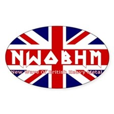 NWOBHM maiden color Decal