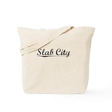 Slab City, Vintage Tote Bag