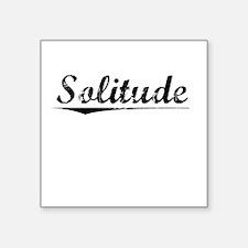 """Solitude, Vintage Square Sticker 3"""" x 3"""""""
