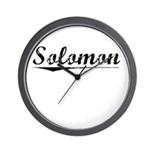 Solomon, Vintage Wall Clock