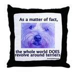 Terriers Rule Throw Pillow