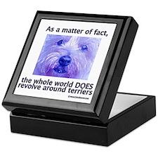 Terriers Rule Keepsake Box