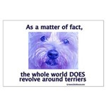 Terriers Rule Large Poster
