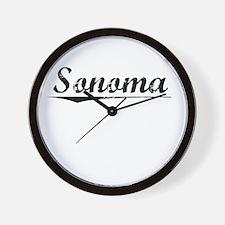 Sonoma, Vintage Wall Clock