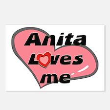 anita loves me  Postcards (Package of 8)
