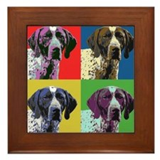 gsp warhol Framed Tile