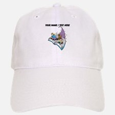Custom Magical Book Baseball Baseball Baseball Cap