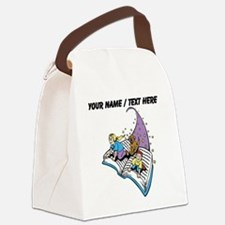 Custom Magical Book Canvas Lunch Bag