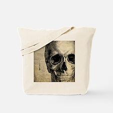 Vintage Skull Tote Bag