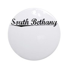 South Bethany, Vintage Round Ornament