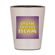 Crush Radical Islam Shot Glass