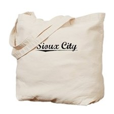 Sioux City, Vintage Tote Bag