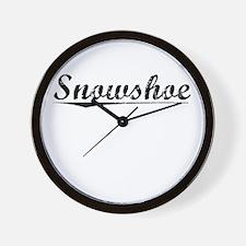 Snowshoe, Vintage Wall Clock