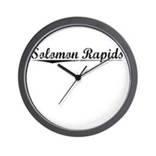 Solomon Rapids, Vintage Wall Clock