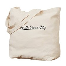 South Sioux City, Vintage Tote Bag