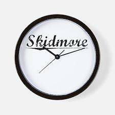 Skidmore, Vintage Wall Clock