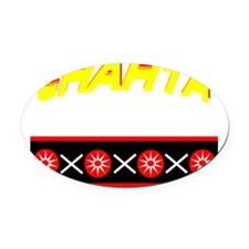 CHAHTA Oval Car Magnet
