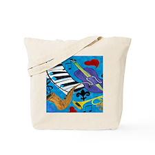 Blues Jazz Tote Bag