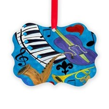 Blues Jazz Ornament