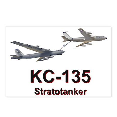 KC-135 Statotanker refuel Postcards (Package of 8)