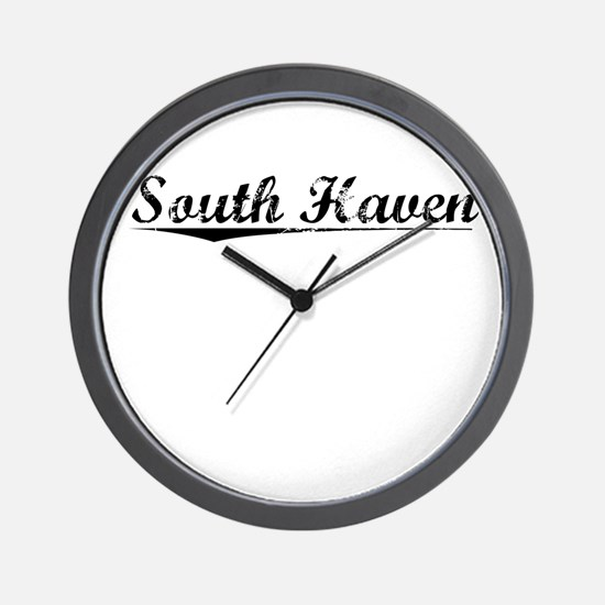 South Haven, Vintage Wall Clock