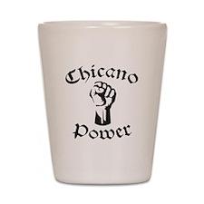 Chicano Power Shot Glass