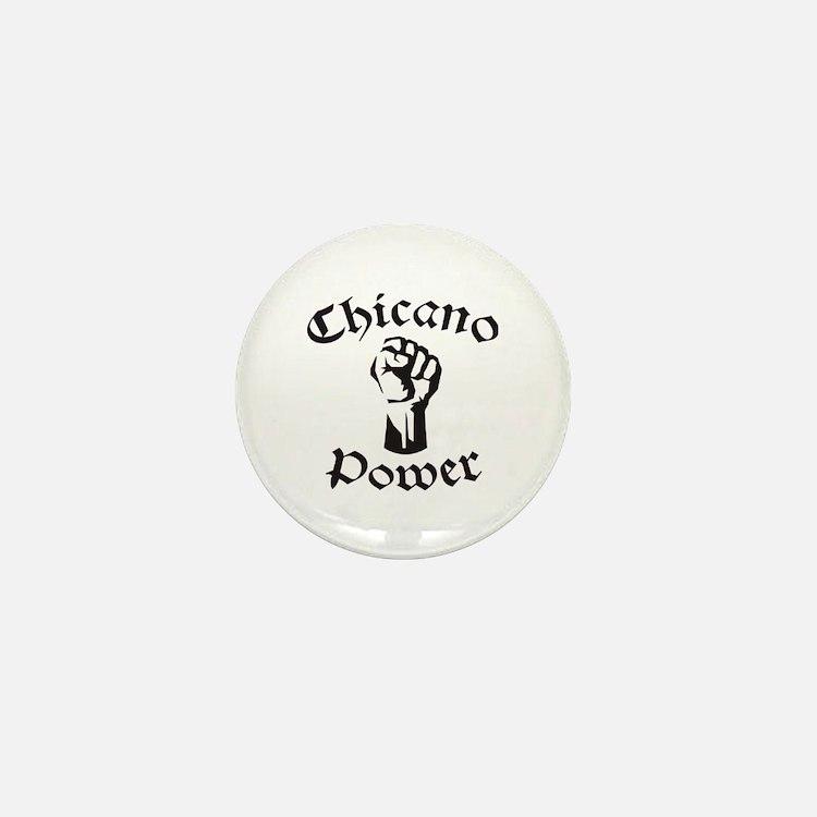 Chicano Power Mini Button