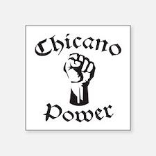 """Chicano Power Square Sticker 3"""" x 3"""""""